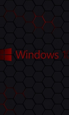 Screenshot №1 pro téma Windows 10 Dark Wallpaper 240x400