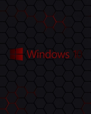 Windows 10 Dark Wallpaper - Obrázkek zdarma pro iPhone 4S