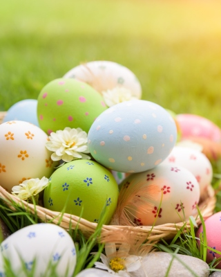 Happy Easter 2020 Background for Nokia X6