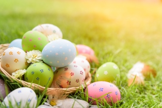 Happy Easter 2020 Background for 1600x1200
