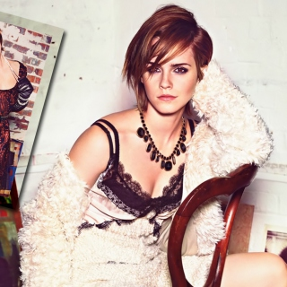 Free Glamourous Style Of Emma Watson Picture for LG KP105