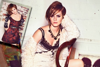 Glamourous Style Of Emma Watson Background for Android, iPhone and iPad