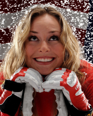 Free Lindsey Vonn Picture for 320x480