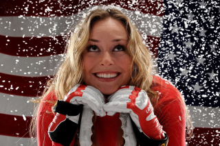 Lindsey Vonn Background for Android, iPhone and iPad
