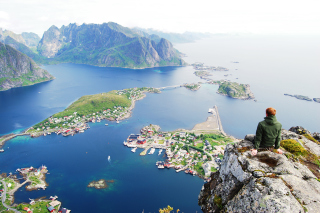 Norway Lofoten Islands - Fondos de pantalla gratis