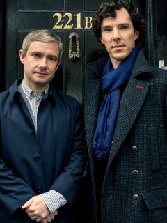 Screenshot №1 pro téma Sherlock Season 3 BBC One 240x320