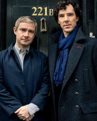 Обои Sherlock Season 3 BBC One на Nokia C2-05