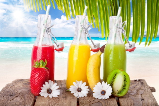 Freshly Squeezed Juice Picture for Android, iPhone and iPad