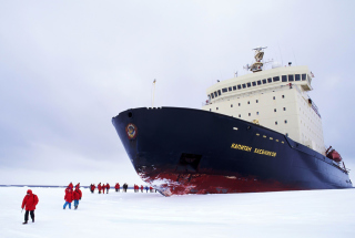 The Russian Icebreaker Kapitan Khlebnikov Picture for Android, iPhone and iPad