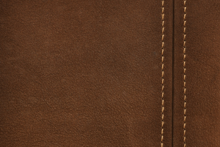 Brown Leather with Seam wallpaper