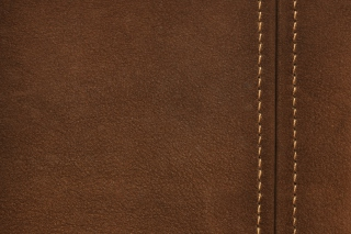 Brown Leather with Seam Picture for Android, iPhone and iPad