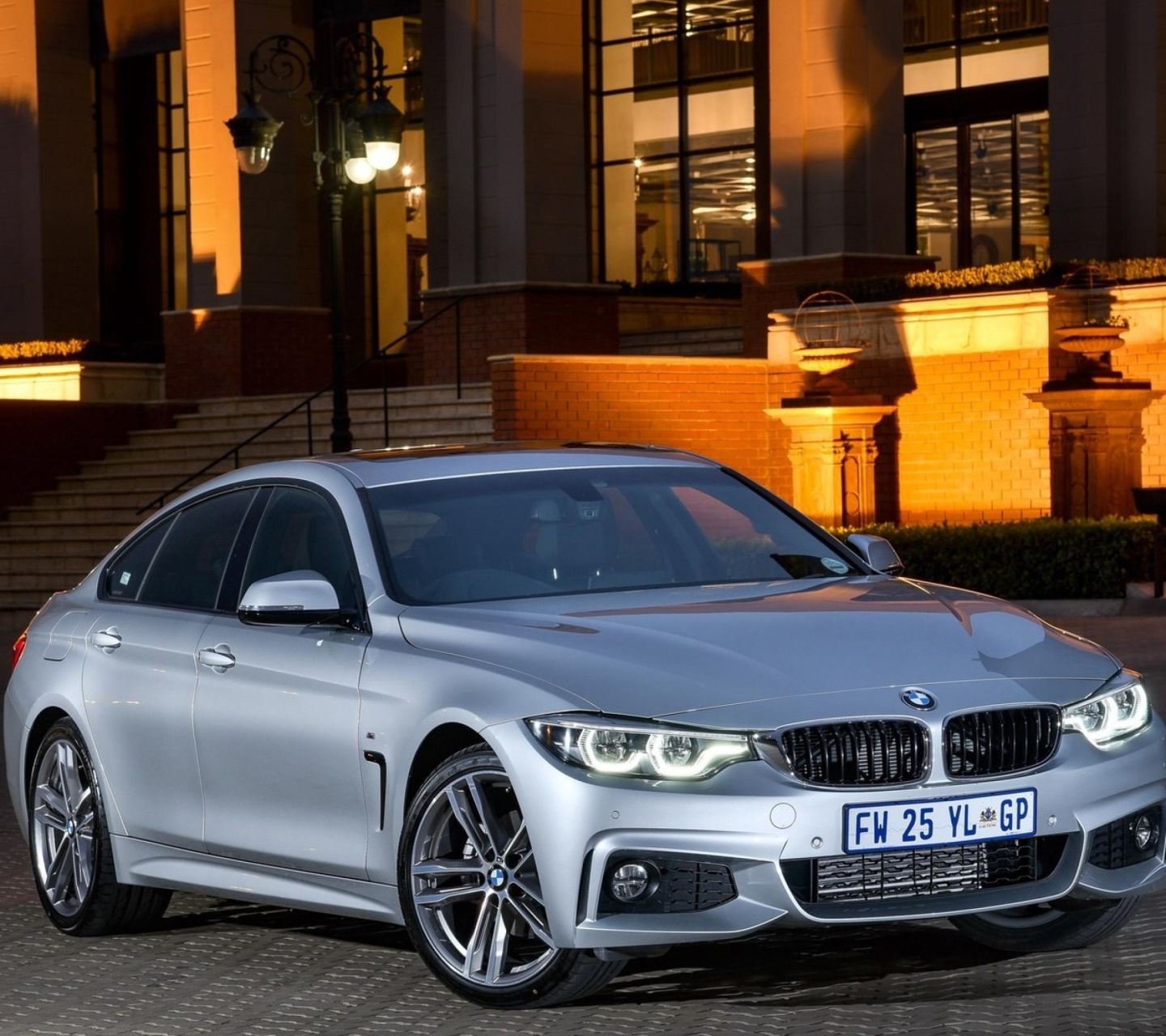 BMW 420d Gran Coupe F36 wallpaper 1440x1280
