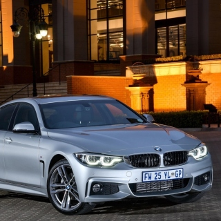BMW 420d Gran Coupe F36 sfondi gratuiti per iPad Air