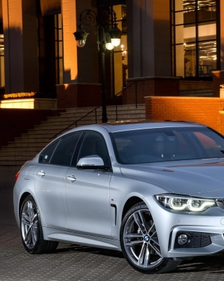 Kostenloses BMW 420d Gran Coupe F36 Wallpaper für iPhone 6 Plus