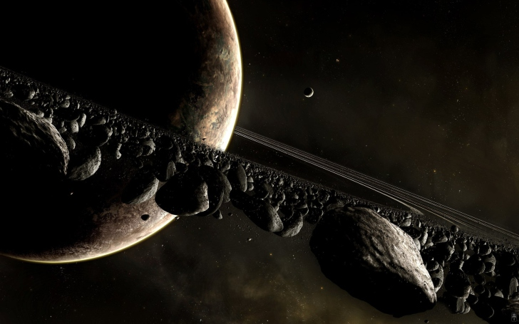 Saturn Ring wallpaper