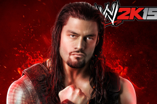 WWE 2K15 Roman Reigns sfondi gratuiti per cellulari Android, iPhone, iPad e desktop