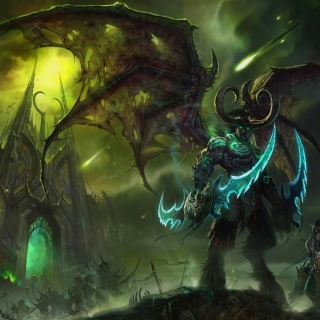 Lord of Outland Warcraft III sfondi gratuiti per iPad Air