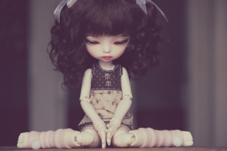 Cute Vintage Doll sfondi gratuiti per cellulari Android, iPhone, iPad e desktop