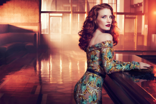 Jessica Chastain Wallpaper for Android, iPhone and iPad