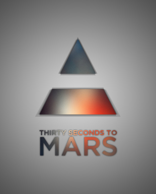 Thirty Seconds To Mars Logo papel de parede para celular para Nokia C-Series