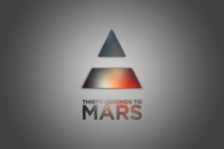 Thirty Seconds To Mars Logo Wallpaper for Android, iPhone and iPad