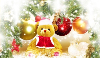 Free Teddy Bear's Christmas Picture for 1440x1280