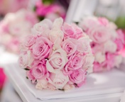 Fondo de pantalla Wedding Bouquets 176x144