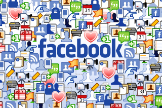 Facebook Wide papel de parede para celular para Widescreen Desktop PC 1600x900