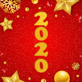 Happy New Year 2020 Messages Wallpaper for iPad 3