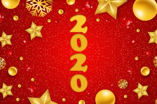 Kostenloses Happy New Year 2020 Messages Wallpaper für 1200x1024