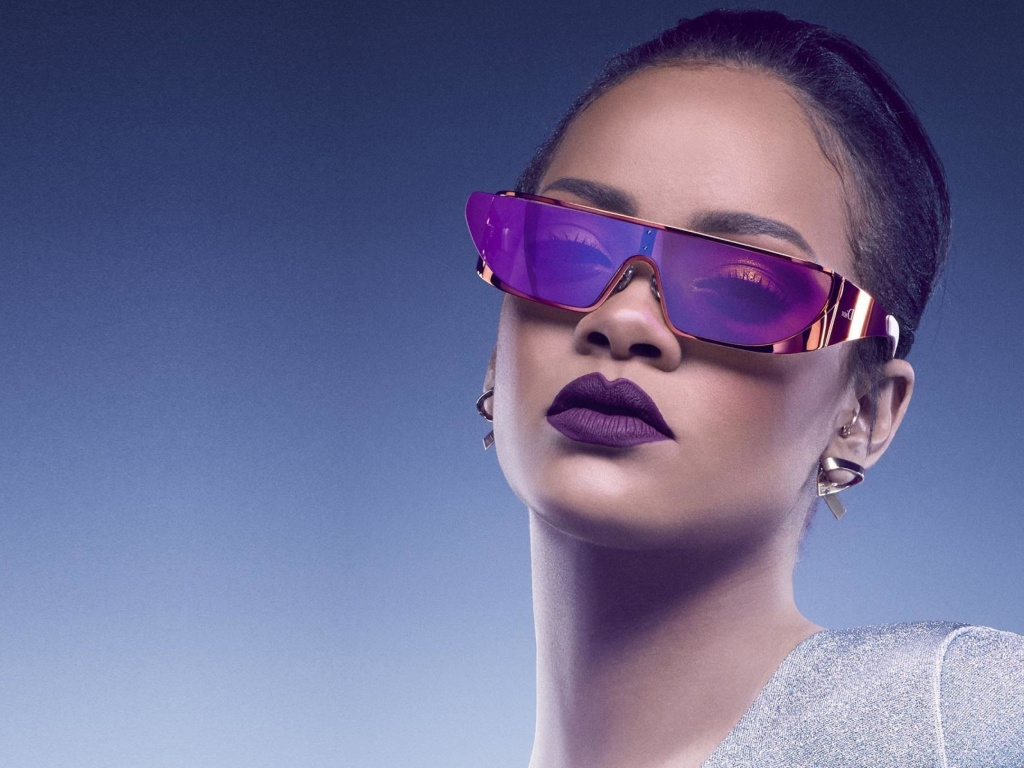 Screenshot №1 pro téma Rihanna in Dior Sunglasses 1024x768