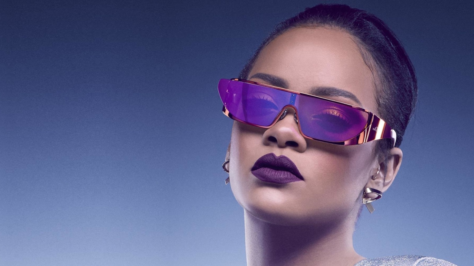 Screenshot №1 pro téma Rihanna in Dior Sunglasses 1600x900