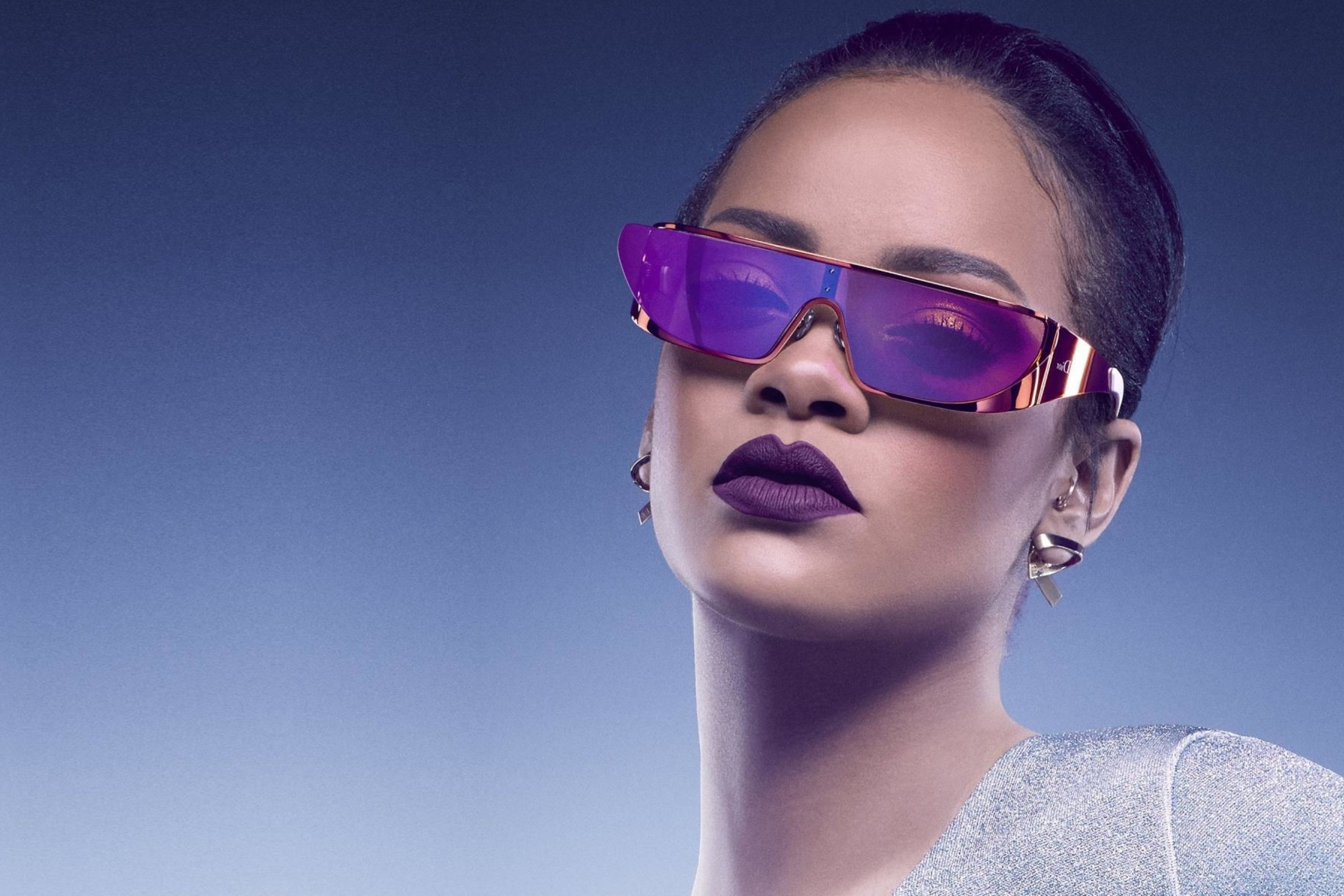 Screenshot №1 pro téma Rihanna in Dior Sunglasses 2880x1920