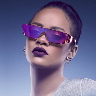 Rihanna in Dior Sunglasses Background for LG KP105