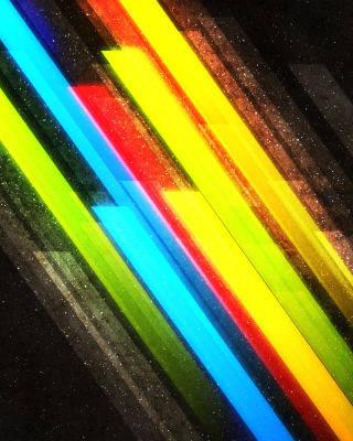 Color Lines Wallpaper for HTC Titan