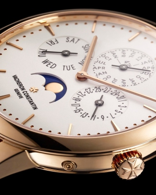 Vacheron Constantin Patrimony Perpetual Calendar Background for Nokia C-5 5MP