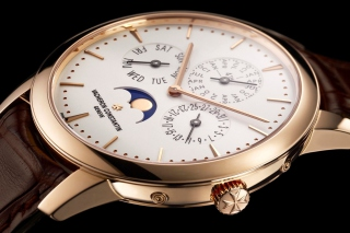 Vacheron Constantin Patrimony Perpetual Calendar Background for Android, iPhone and iPad