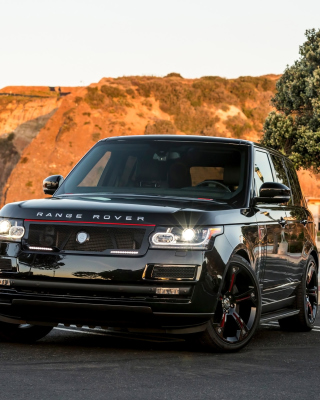 Range Rover STRUT with Grille Package Wallpaper for Nokia Asha 308