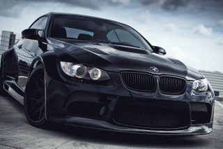Black BMW E93 series 3 Picture for Android, iPhone and iPad
