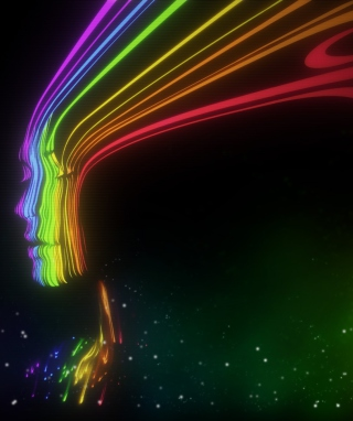 Colorful Face Wallpaper for Nokia 7600