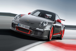 Porsche 911 Background for 480x320