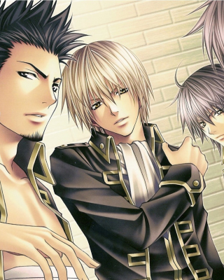 Gin Tama: Shinsengumi, Hijikata Toushirou Wallpaper for Nokia C5-05