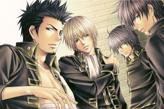 Gin Tama: Shinsengumi, Hijikata Toushirou Wallpaper for Nokia Asha 201