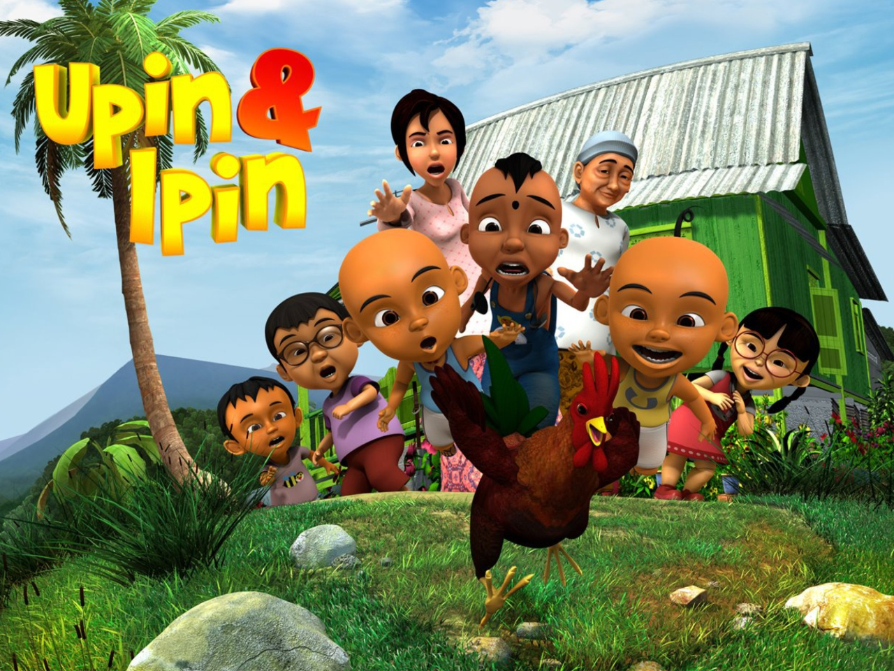 Das Upin & Ipin Wallpaper 1280x960