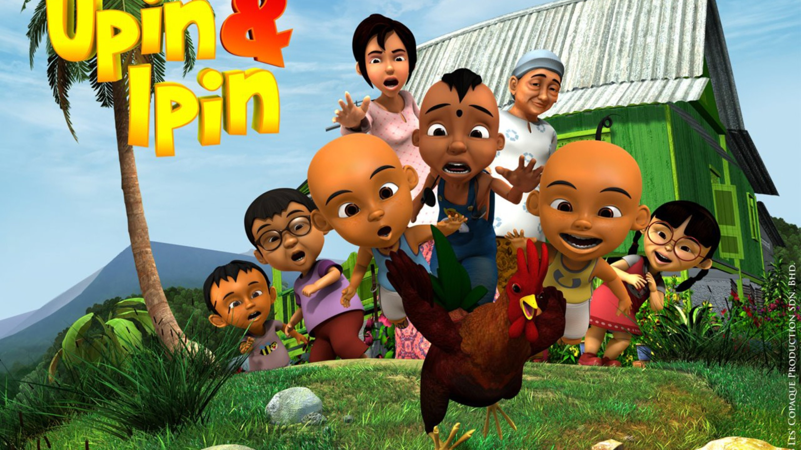 Upin & Ipin screenshot #1 1600x900