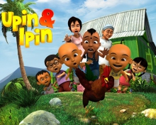 Upin & Ipin wallpaper 220x176