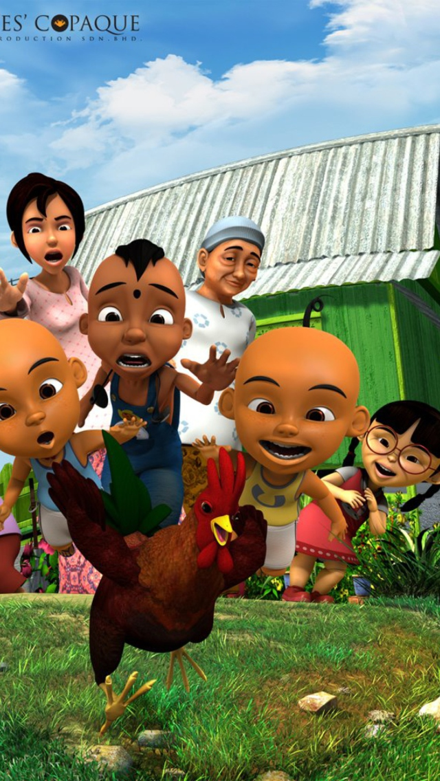 Upin & Ipin screenshot #1 640x1136