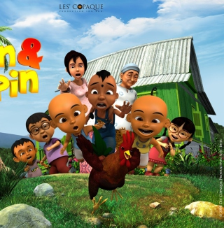 Upin & Ipin Wallpaper for 2048x2048