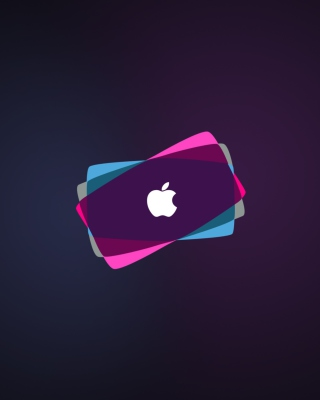 Simple Purple Apple - Obrázkek zdarma pro iPhone 6