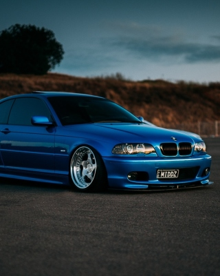 BMW M3 E46 Wallpaper for iPhone 4S